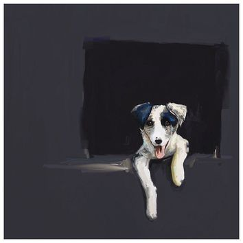 Best Friend - Border Collie Puppy Wall Art