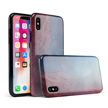Abstract Fire & Ice V10 - iPhone X Swappable Hybrid Case