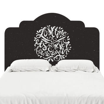Lost Time Headboard Decal