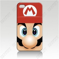 For iphone 5 iphone 4 4s Cover Case Skin mario