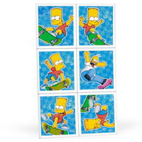 Simpsons Sticker Sheets