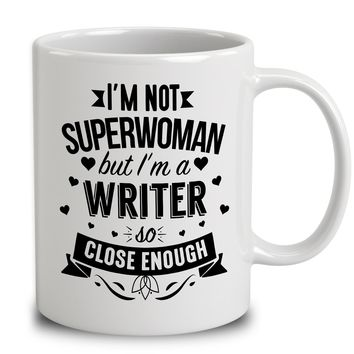 I'm Not Superwoman But I'm A Writer