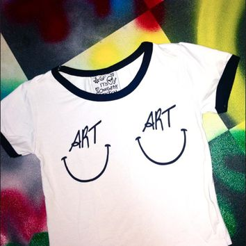 SWEET LORD O'MIGHTY! ARTTITS RINGER TEE