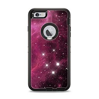The Glowing Pink Nebula Apple iPhone 6 Plus Otterbox Defender Case Skin Set