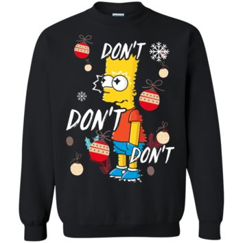 The Simpsons Bart Simpson Ugly Xmas Sweater Perfect Christmas Gift