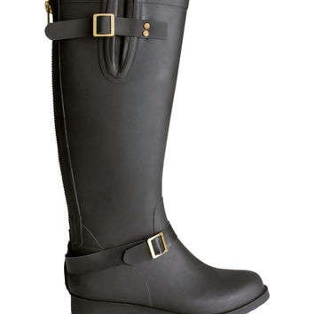 H&M - Rubber Boots - Black - Ladies