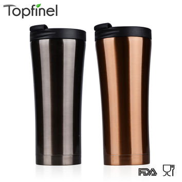 stainless steel auto cup small thermos Vacuum Thermo falsk termica infantil bottle mug mini hot cold water garrafa 500ML