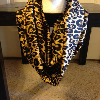 Leopard Print Infinity Scarf from Nicole Ray