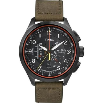 Timex T2P276DH Intelligent Quartz Linear Chronograph Watch