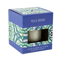 Wild Berry Blackberry Raspberry Scented Soy Candle
