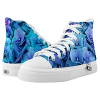 hydrangea printed shoes