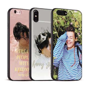 Harry Styles Coque tpu Soft Silicone Phone Case Cover Shell For Apple iPhone 5 5s Se 6 6s 7 8 Plus X XR XS MA