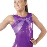 Rhinestone Detail Cutout Back Leotard | Balera™