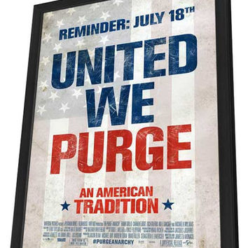 The Purge: Anarchy 11x17 Framed Movie Poster (2014)