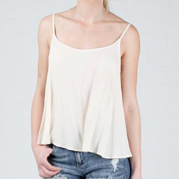 ANGL | Open Back Cropped Cami Top