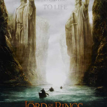 Lord of the Rings 1: The Fellowship of the Ring 27x40 Movie Poster (2001)
