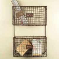 Wire Wall Storage Bins