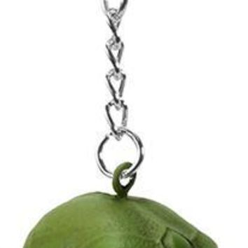 Alien Little Green Man Skull Keyring Keychain