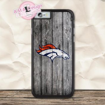 Denver Broncos American Football Case For iPhone X 8 7 6 6s Plus 5 5s SE 5c 4 4s For iPod Touch
