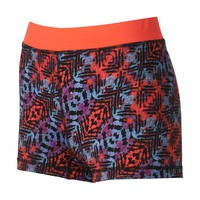 One Step Up Graphic Print Hot Shorts - Juniors, Size: