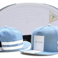 Cayler & Sons TRES SLICK snapback cap mens women bone gorras hip hop caps snapbacks hat blue gray black white