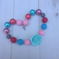 #44 Bubblegum Chunky Necklace