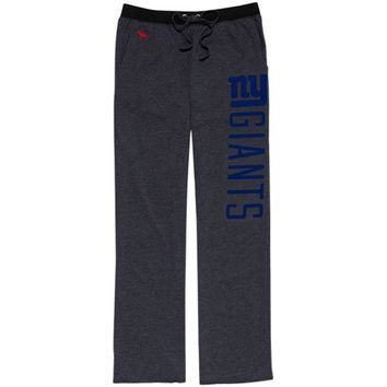 Victoria's Secret PINK New York Giants Women's Boyfriend Pants - Charcoal