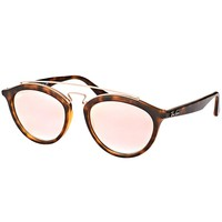 Ray-Ban GatsbyII RB 4257 6267B9 Matte Havana Sunglasses Copper Flash Shaded 53mm