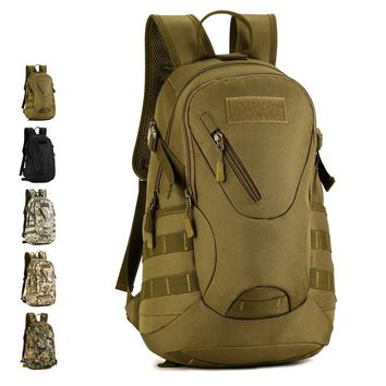 "RHYME Waterproof 3D Military Tactics Backpack Swiss Army Multifunctiona 13""  Laptop Bag Versatile schoolbag Travel Bag Rucksack"