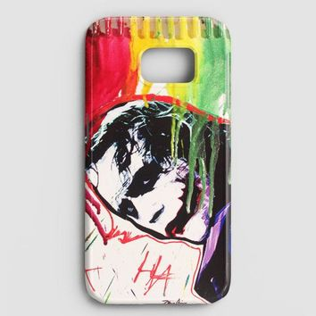The Joker Paint Art Samsung Galaxy Note 8 Case