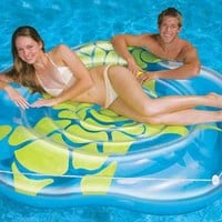 Tropical Turtle Island Pool Float