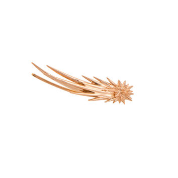 CECIL COMÈTE PINK GOLD EARRING