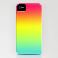 Red Yellow Blue Gradient iPhone Case by xjen94 | Society6