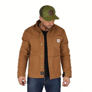 DUCK CANVAS CHORE COAT