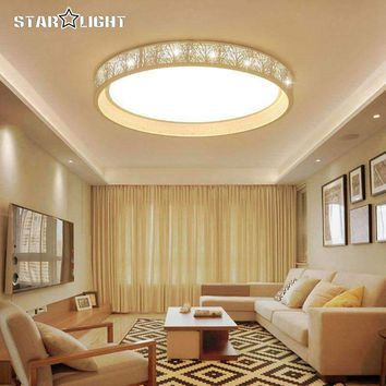 Round Tree Shade Indoor Chandelier Home AC85-265V Modern Led Ceiling Chandelier Lamp Fixtures For Living Room Bedroom