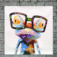 Cartoon Canvas printed Oil Painting Pop Animal Wall Art prints picture for Home Decoration Happy Frog can choose with framed-in Painting & Calligraphy from Home & Garden on Aliexpress.com | Alibaba Group