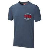 Luxe Mens T Shirt Petrol Blue  - Outdoor Clothing, Waterproof jackets and fleeces -TOG24