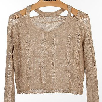 BLVD Open Weave Sweater