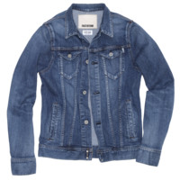 E Regular Denim Jacket