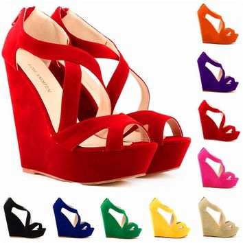 Danai Wedge Shoes for the Summer - 9 Colors
