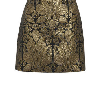WARNER JACQUARD MINI SKIRT