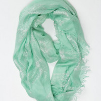 Shimmer-Dusted Loop Scarf