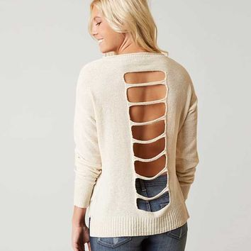 DAYTRIP OPEN BACK SWEATER