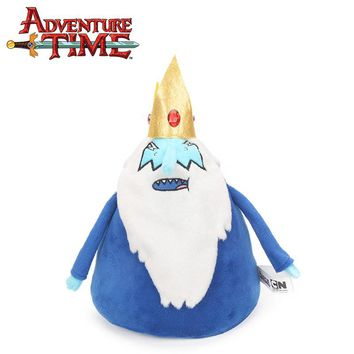 Blue 25cm 9.8inch Adventure Time Plush Keychain Toys THE ICE KING Soft Stuffed Dolls Toy Pendant Party Supplies