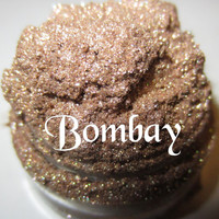 Bombay Beige/Taupe Shimmer Glitter Beach Natural Mineral Eyeshadow Mica Pigment 5 Grams Lumikki Cosmetics