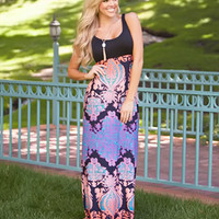Keep It On the Low Maxi Dress