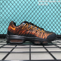DCCK2 N170 Nike Air Max 95 HYP PRM Anniver Flyknit Causal Running Shoes Black Orange