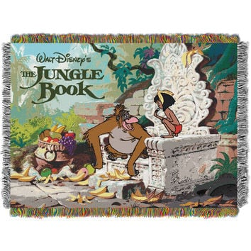 Disney Jungle Book King Louie 051 Entertainment 48x60 Tapestry Throw