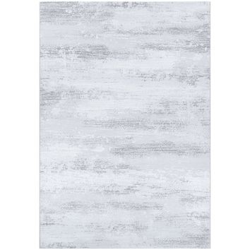 Driggers Light Gray/White Area Rug