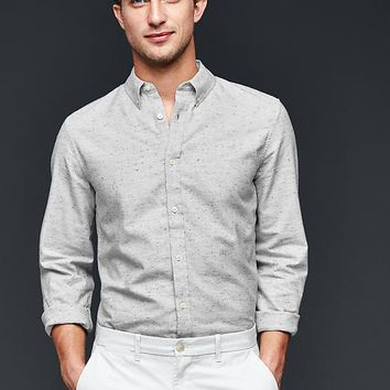 Nep Oxford Shirt Slim Fit